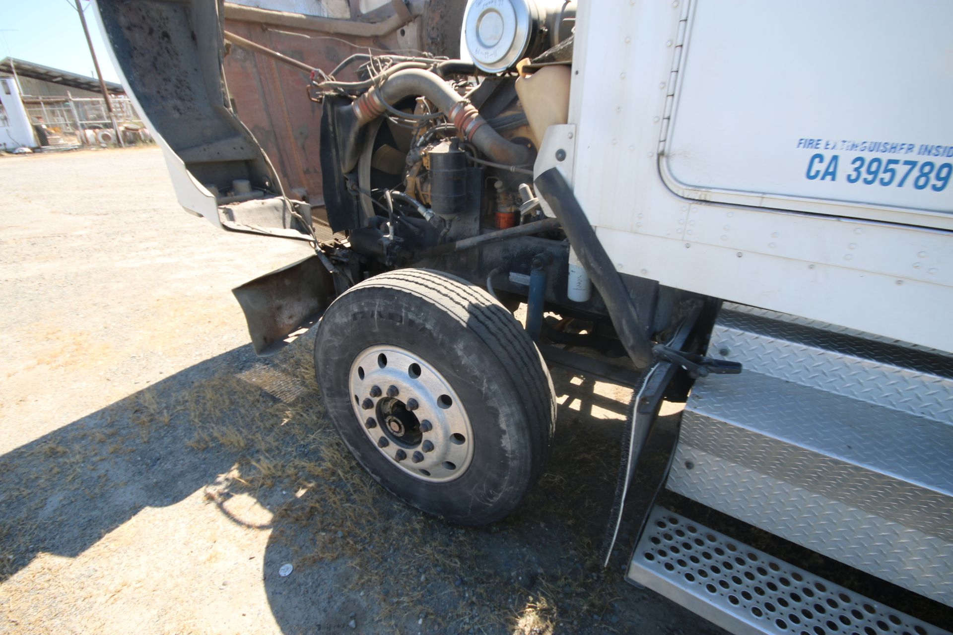 1996 Kenworth 3-Axle Roll-Off Straight Truck, VIN #: 1XKDDB9XOTS687107, with 24,722 Miles, License - Image 30 of 30