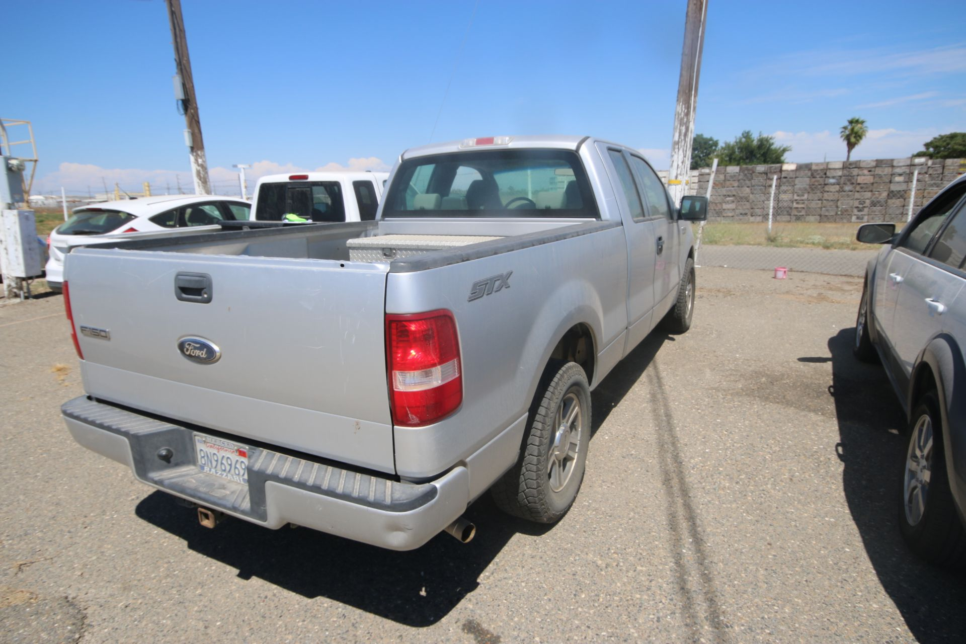 2008 Ford F150 Pick Up Truck, VIN #: 1FTRX12W7BFB9710, with 214,817 Miles, Started Up as of 06/24/ - Image 3 of 24