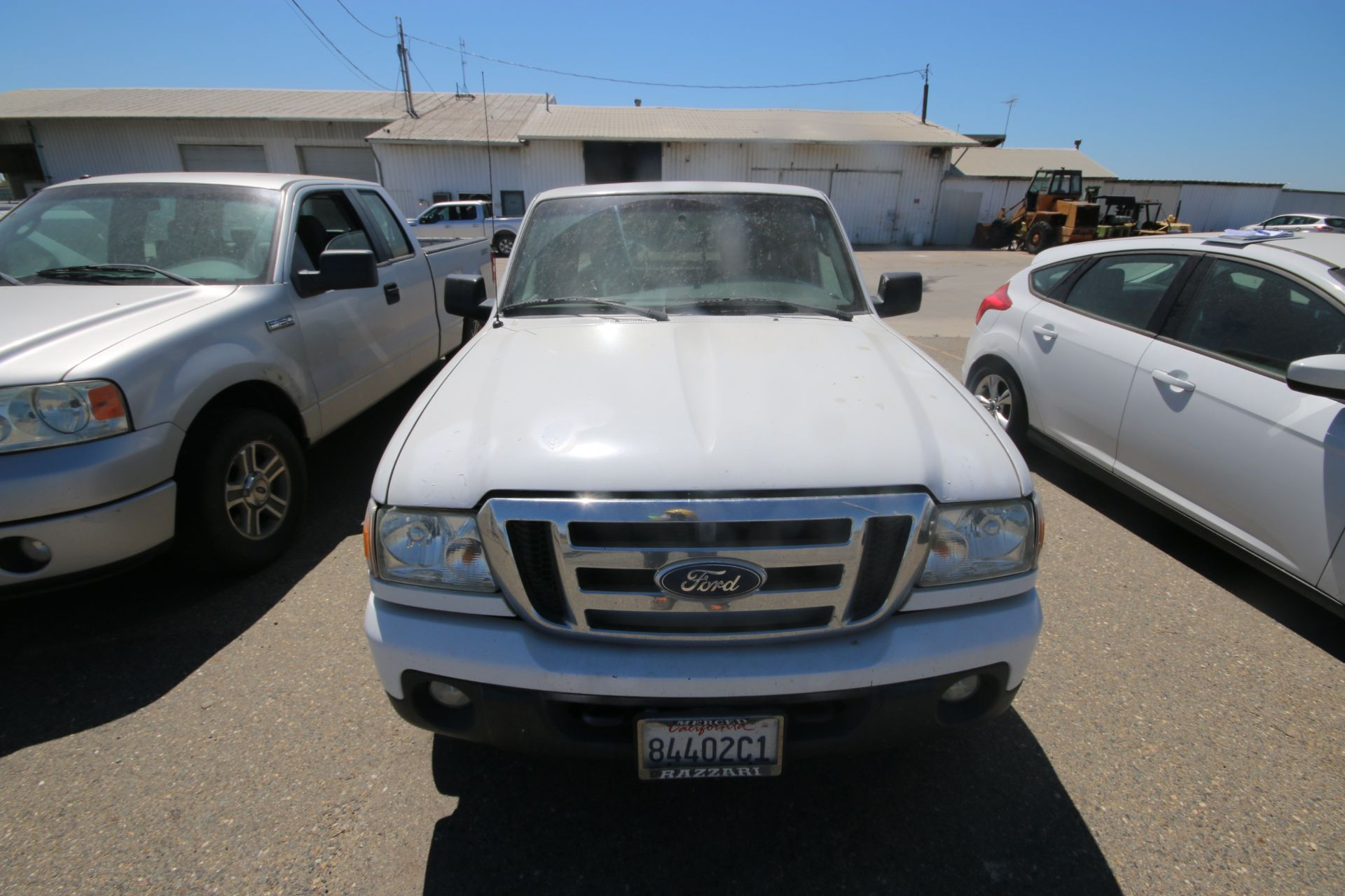 2011 White Ford Ranger Pick Up Truck, VIN #: 1FTLR4FE8BPA37482, with 160,443 Miles, Started Up as of - Image 24 of 24