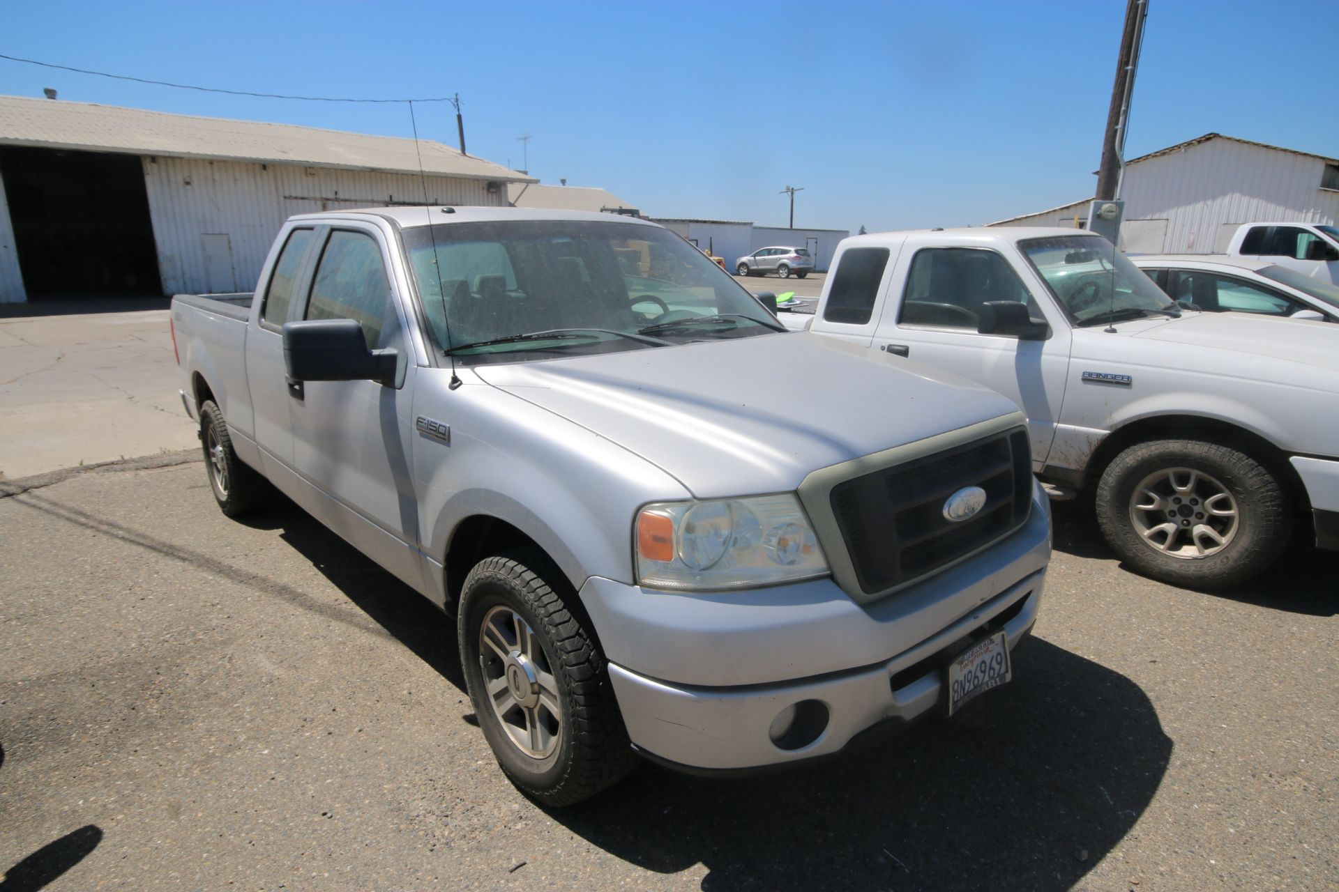 2008 Ford F150 Pick Up Truck, VIN #: 1FTRX12W7BFB9710, with 214,817 Miles, Started Up as of 06/24/ - Image 2 of 24