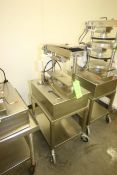 Comtec Pie Tart Top & Base Presses, M/N 2200, S/N H-4019, 220 Volts, 1 Phase, with Motors, Mounted