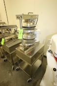 Comtec Pie Tart Top & Base Press, M/N 2200, S/N BD-4270, 220 Volts, 1 Phase, with Leeson 1-1/2 hp