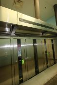 Baxter S/S Single Rotating Rack Natural Gas Oven, M/N OV210G2, S/N 24-1007364, 290,000 BTU/HR,