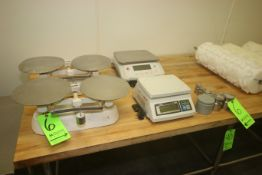 "(1) CAS Digital Scale, M/N SW-50, with Aprox. 9"" L x 7-1/2"" W Platform, with Digital Read Out, (1)"
