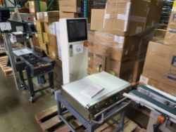 ANRITSU SV Series Check Weigher, Model KW5728AFNN, S/N 4600090336, dom 2008, Digital Control Panel,