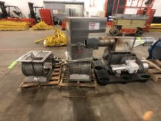(3) Schenck / REYCO Airlock Rotary Star Valves, Model MD139, (1) Built in 2017