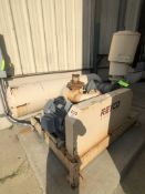 REYCO SKID-MOUNTED ROTARY POSITIVE DISPLACEMENT BLOWER PACKAGE, MODEL 718 40 HP POS. PNEUMATIC