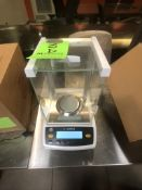 SARTORIUS ANALYTICAL BALANCE, MODEL ENTRIS S224-1S, S/N 32006474, CALIBRATED 10/22/2019