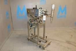 Comas S/S Dosing Pump, Matricola: 2489, Year: 1996, with Adjustable S/S Scissor Frame,