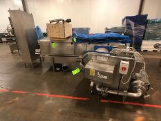 2009 Turatti S/S Tunnel Washer, Model 6142.100.020.00, S/N 09/234, Cleated Plastic Mesh Belt, 2009