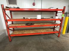 METAL SHELVING (LOAD & RIG FEE $85.00 - OPTIONAL PALLETIZING, SKIDDING OR CRATING ADDITIONAL)
