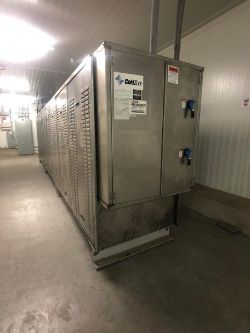 2016 COLD ZONE PACKAGED FREON CHILLER, MODEL CZ 24 D 5 A, S/N E16H00760652001001 INCLUDES COLD