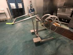 S/S Ribbon Blender Attachment on S/S Cart (LOAD & RIG FEE $85.00 - OPTIONAL PALLETIZING, SKIDDING OR