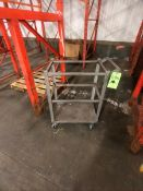 S/S PORTABLE CART/DOLLY APPX DIM. LWH'' 24 X 16 X 33 (LOAD & RIG FEE $25.00 - OPTIONAL