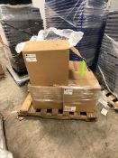 (5) BOXES OF WORLDWIDE PLASTICS CONTAINERS, 400 PCS PER BOX (LOAD & RIG FEE $25.00 - OPTIONAL