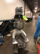 /HOBART 20 Qt Countertop Mixer, Model HL200, S/N 31-1522 - 493, ON PORTABLE S/S TABLE, INCLUDES