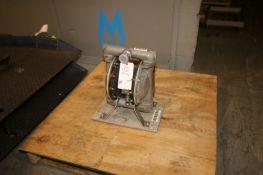 ARO Diaphragm Pump, M/N 666.16B-8EB-C, S/N G9220550, Max. Working Pressure
