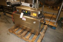 """Label Shrink Packager, M/N BSS-1538B, with Aprox. 10"""" L x 2"""" Adjustable Product Opening,"""