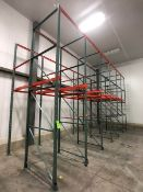 DRIVE-IN PALLET RACKING, (6) SECTIONS W/ 4 PALLET CAPACITY PER SECTION - NOT INCLUDING TOP TIER,