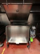 GROEN TILT BRAISING PAN, PORTABLE MOUNTED ON CASTERS (LOAD & RIG FEE $260.00 - OPTIONAL PALLETIZING,