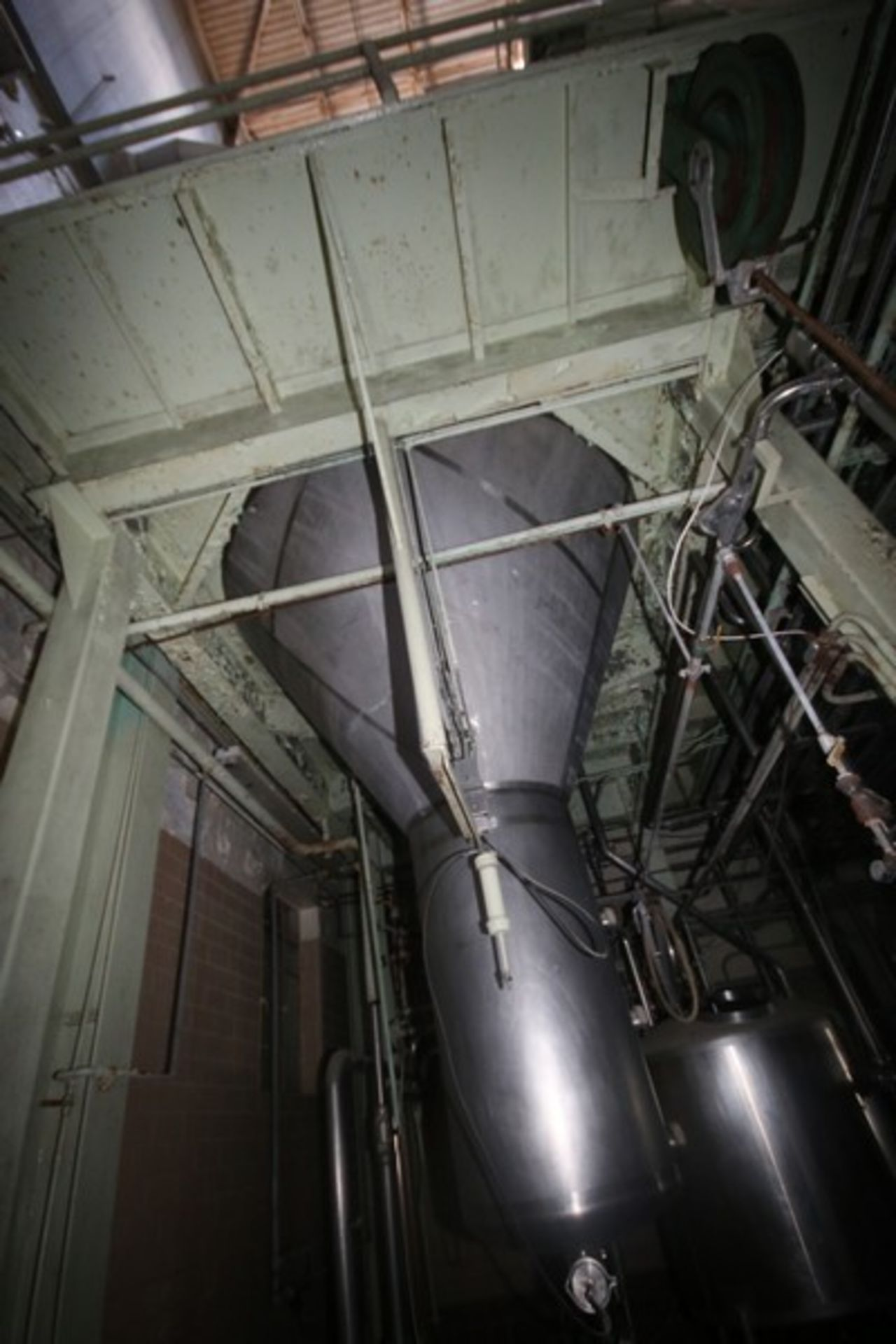 C. E. Rogers 55,000#/ Hr. Falling Film Whey Evaporator, with S/S Components & Associated Valving & - Image 20 of 22