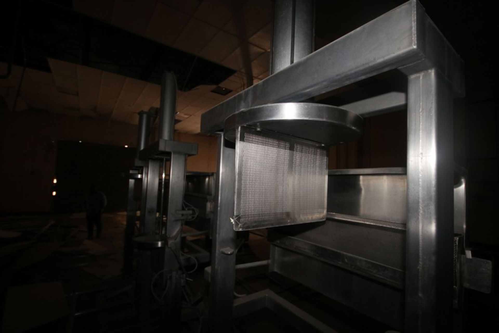 Dual Air Operated Dewatering Cheese Press (LOCATED IN Muenster, TX) - Image 5 of 5