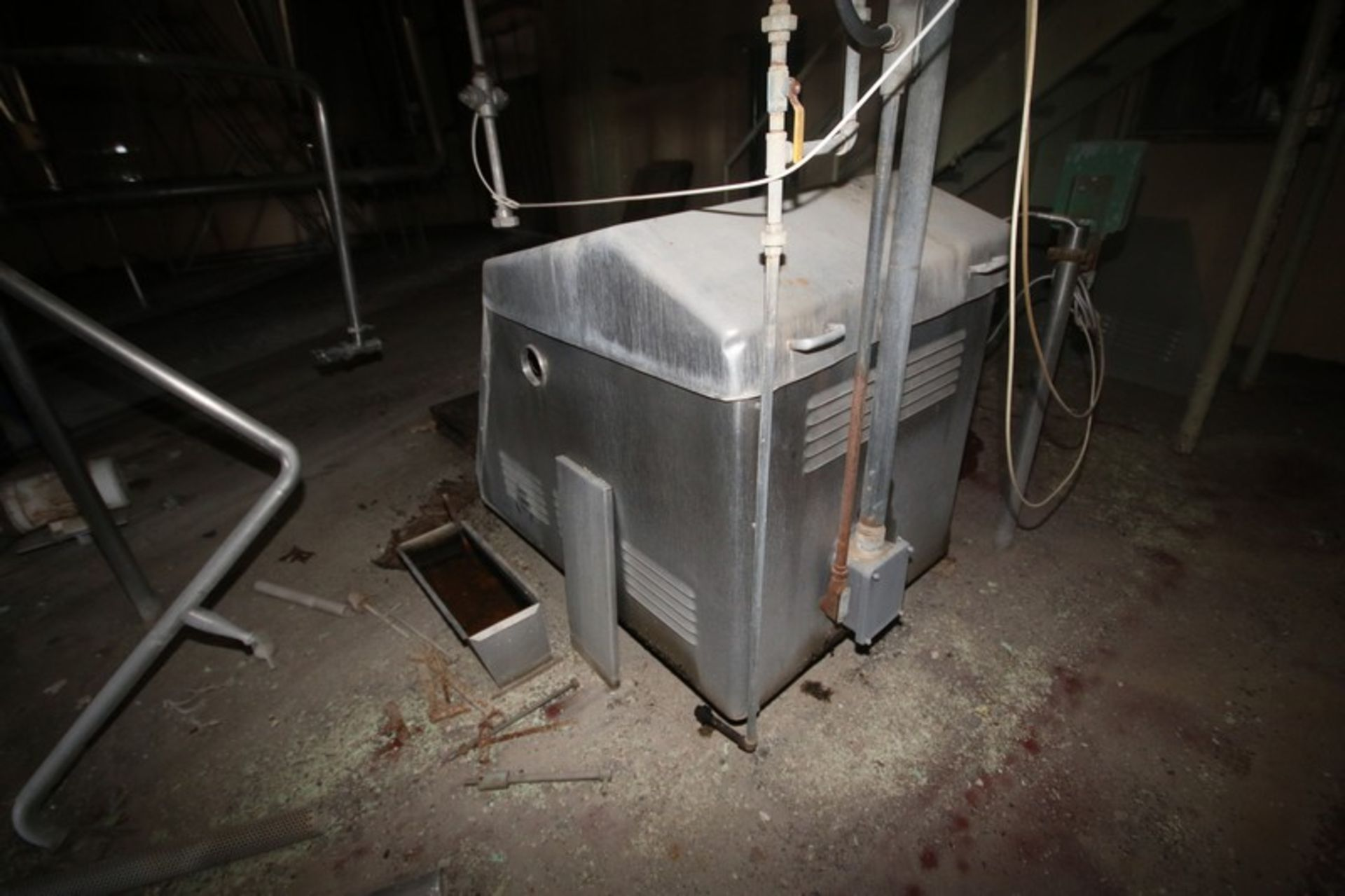 Gaulin Homogenizer, M/N 1250MCP185TBS, S/N 10756651 (NOTE: Missing Head & Other Parts--See - Image 6 of 6
