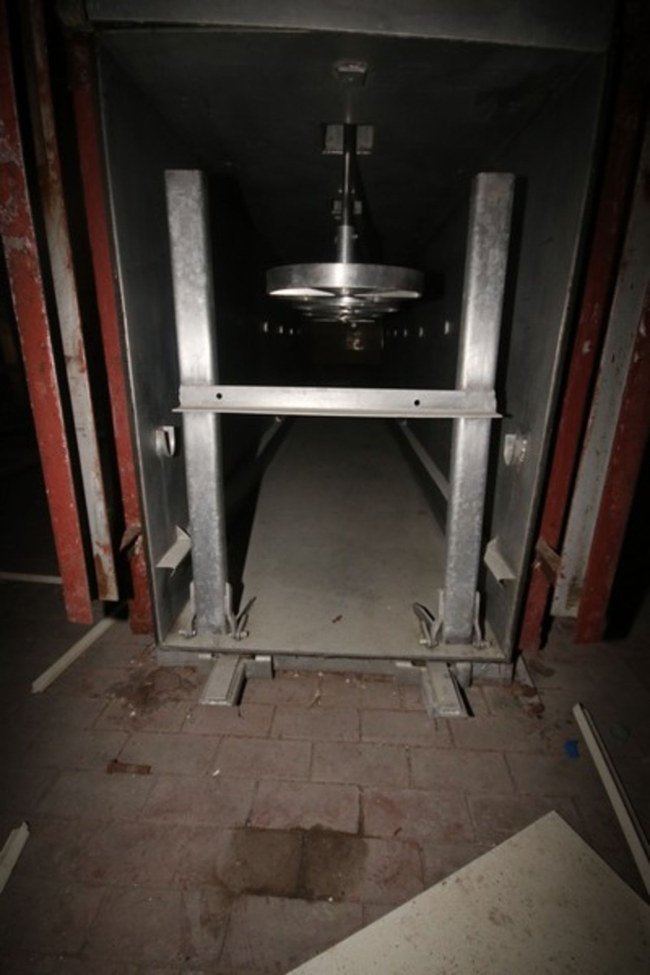 6-Station Enclosed Horizontal Barrel Cheese Press, Stainless Steel with Carbon Steel Frame, with - Image 3 of 6