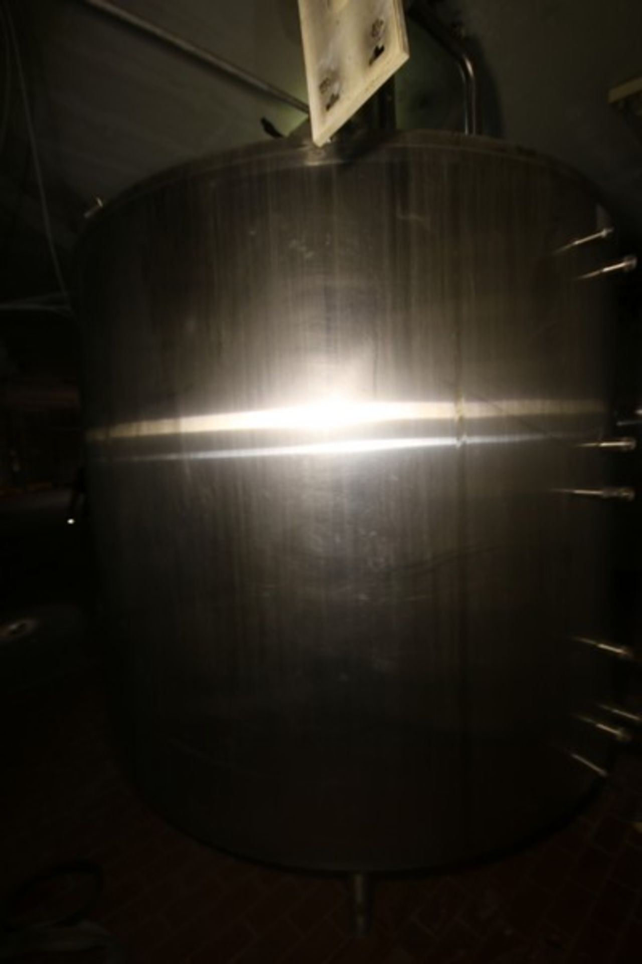 """Mueller Aprox. 2,000 Gal. S/S Processor, Processor Dims.: 8' Diameter x 62"""" Straight Side with - Image 5 of 8"""
