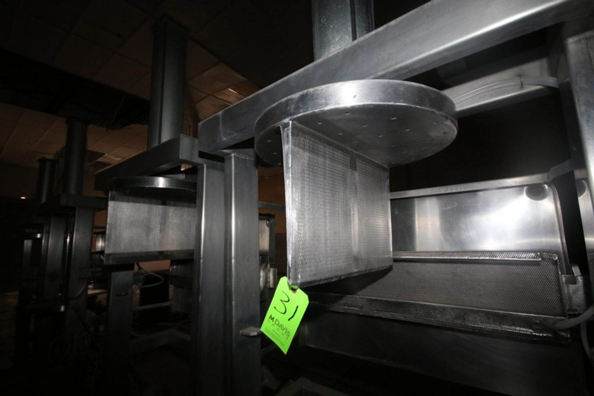 Dual Air Operated Dewatering Cheese Press (LOCATED IN Muenster, TX) - Image 4 of 5