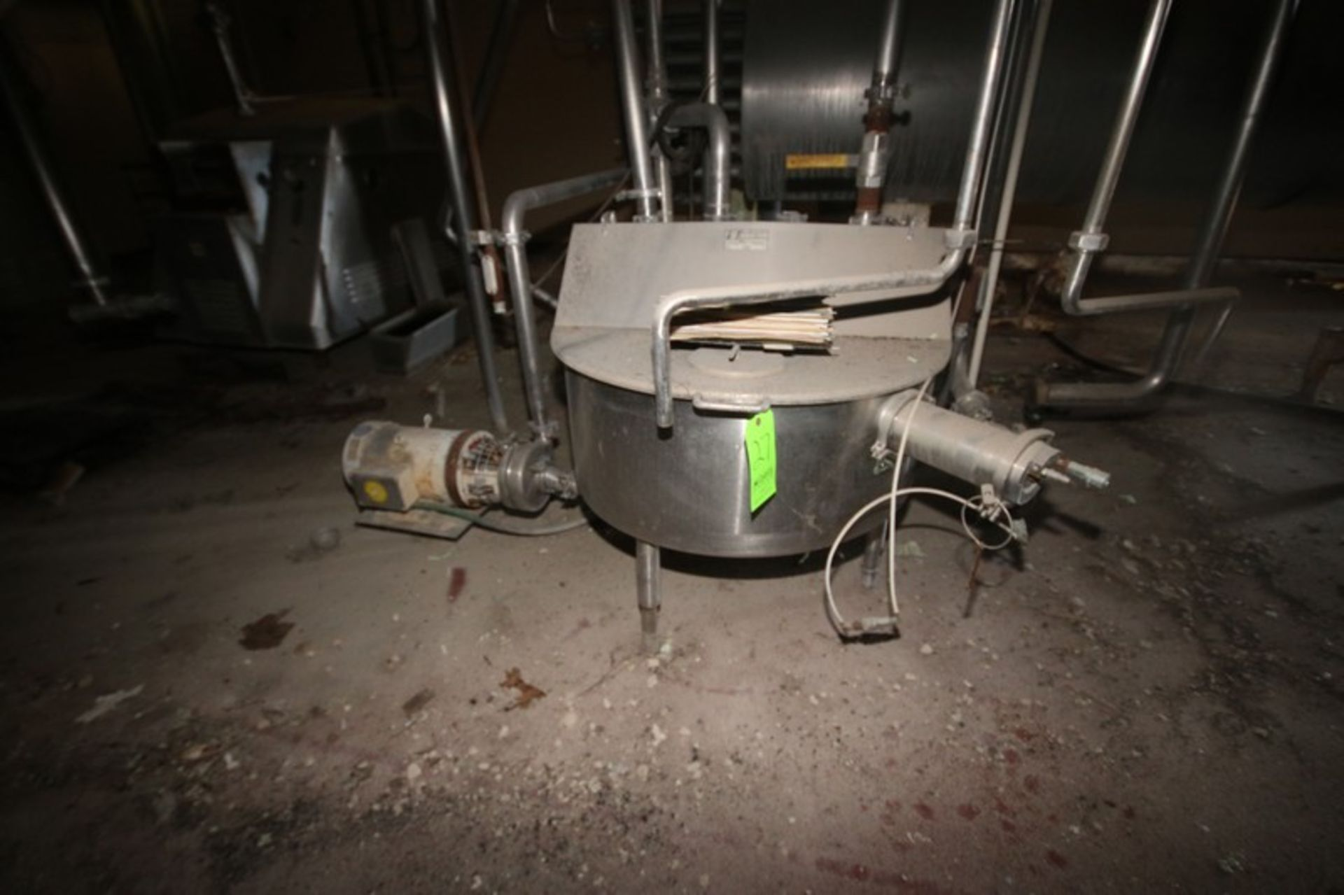 S/S Pasteurizer, with S/S Balance Tank (LOCATED IN Muenster, TX) - Image 5 of 5