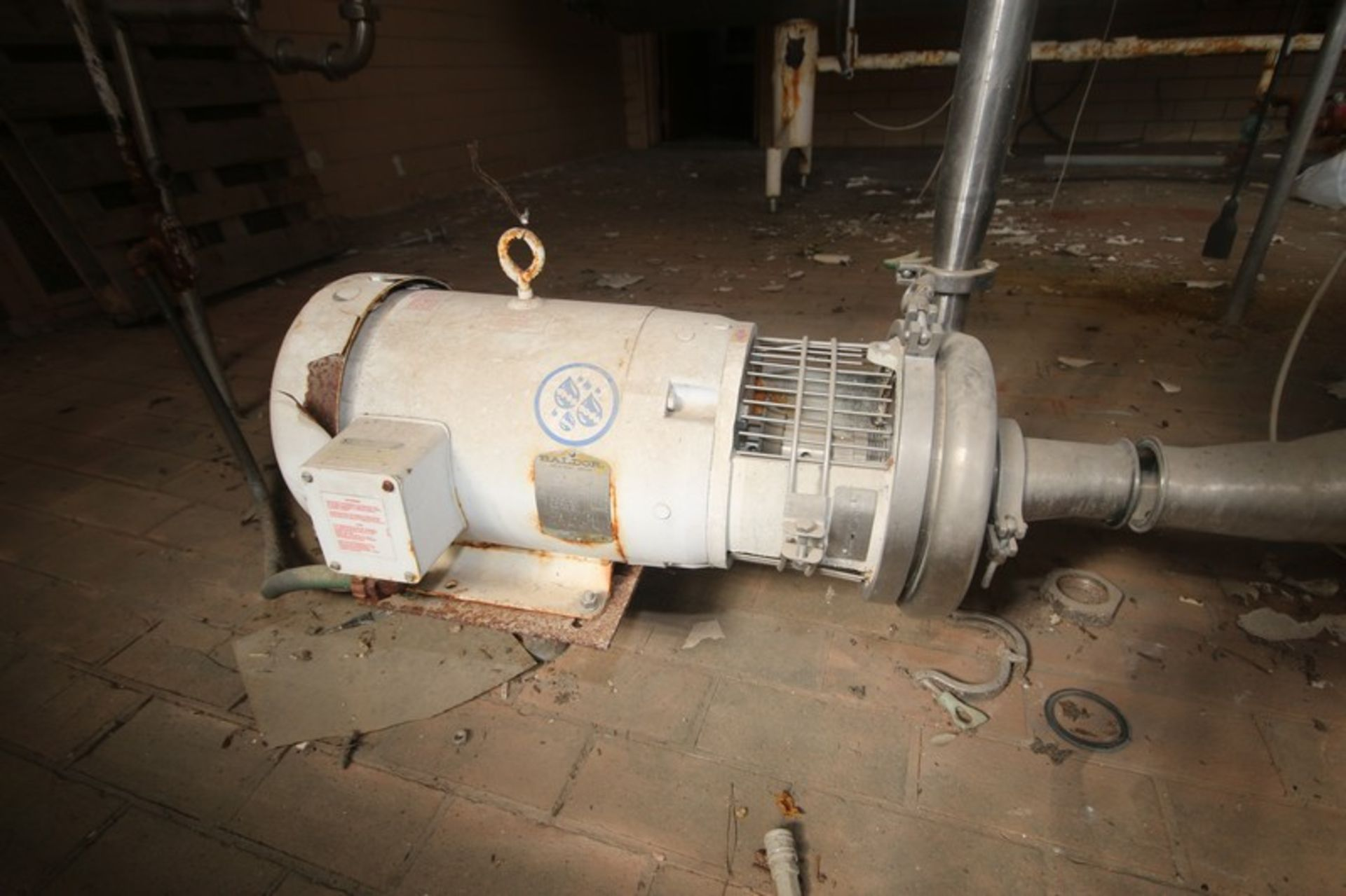 """Aprox. 60 Gal. S/S Tank, Tank Dims.: Aprox. 42"""" Dia. x 15"""" H Straight Side (LOCATED IN Muenster, TX) - Image 3 of 7"""
