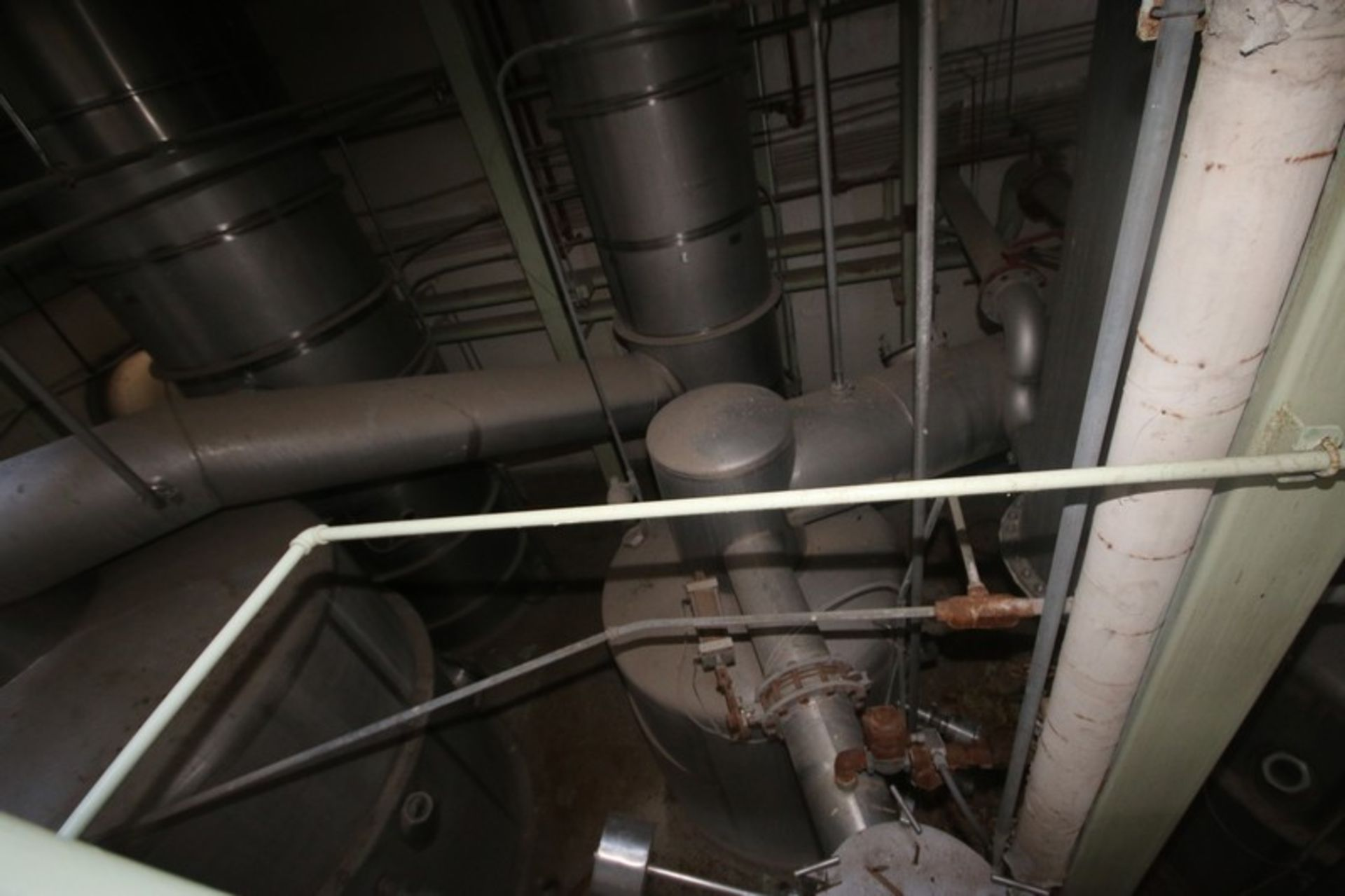C. E. Rogers 55,000#/ Hr. Falling Film Whey Evaporator, with S/S Components & Associated Valving & - Image 6 of 22