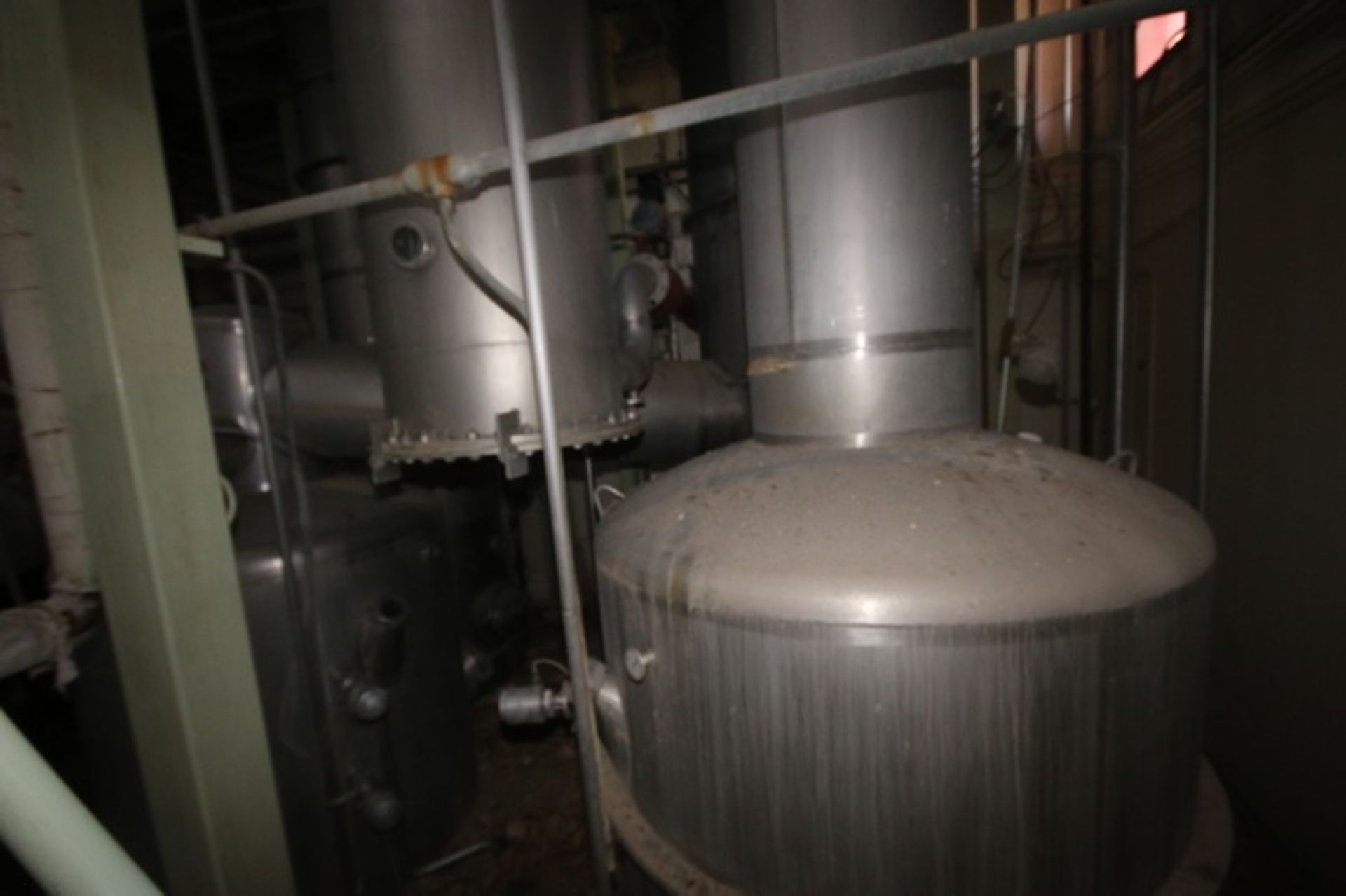 C. E. Rogers 55,000#/ Hr. Falling Film Whey Evaporator, with S/S Components & Associated Valving & - Image 5 of 22