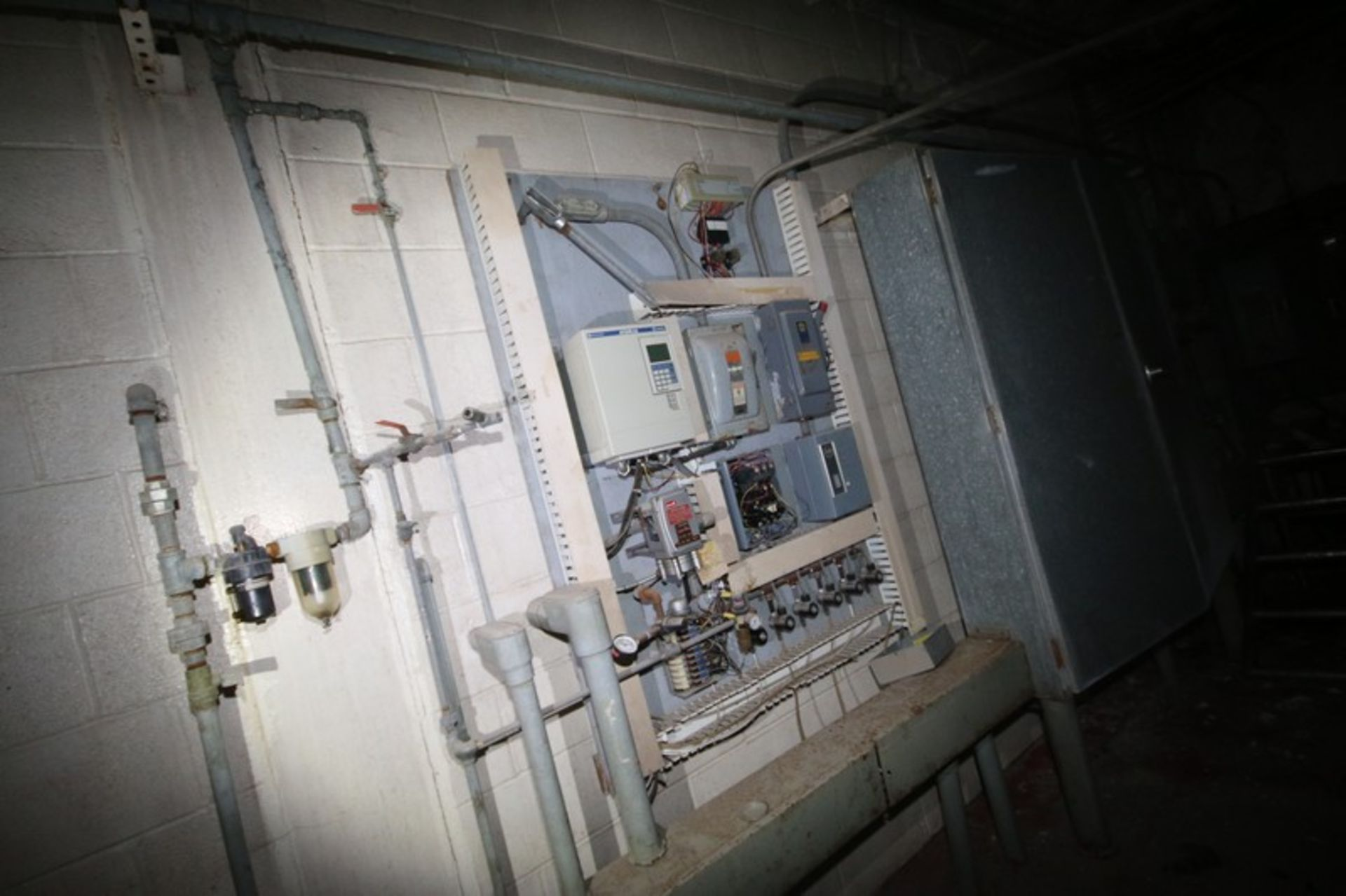 C. E. Rogers 55,000#/ Hr. Falling Film Whey Evaporator, with S/S Components & Associated Valving & - Image 15 of 22