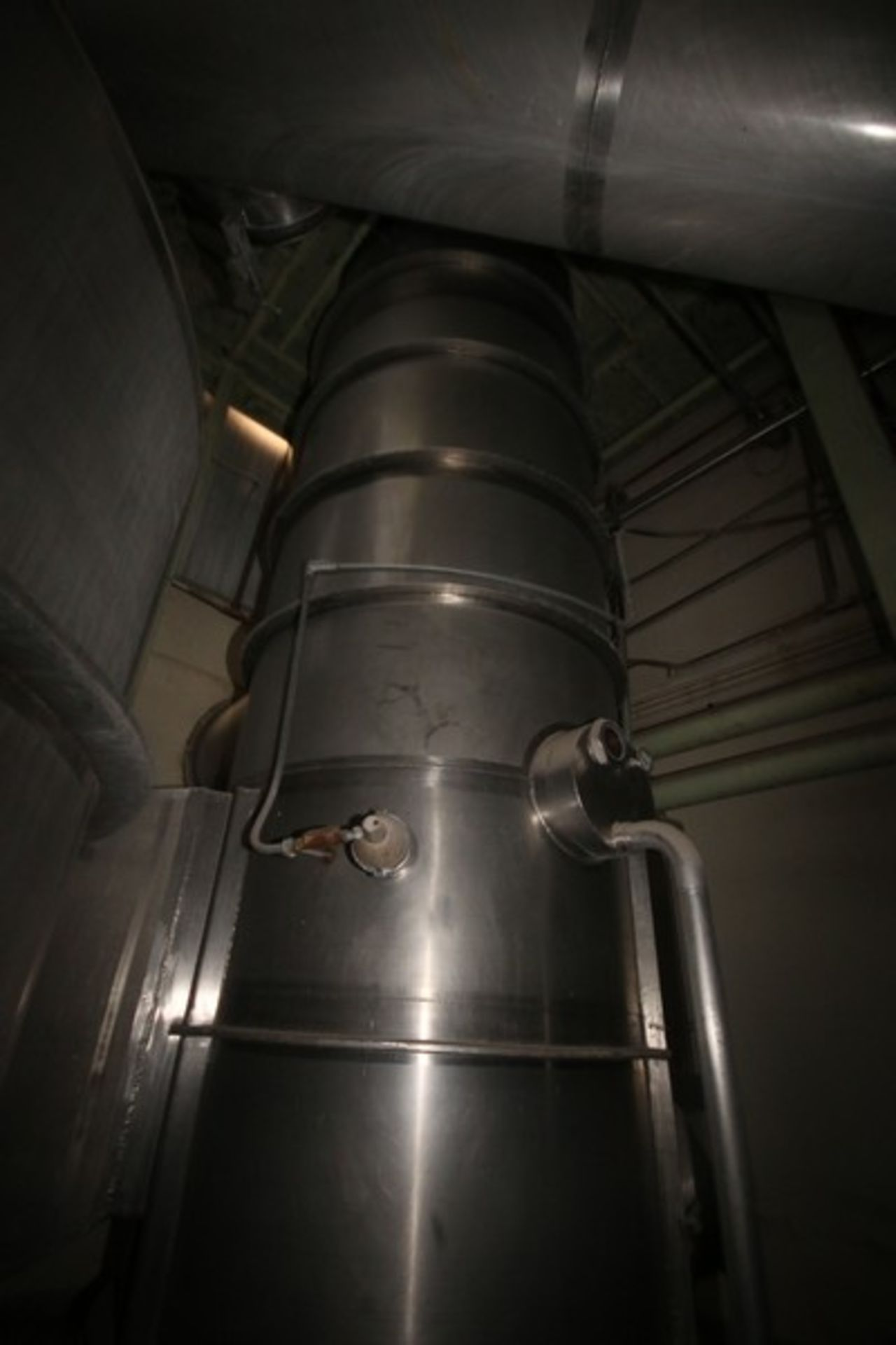 C. E. Rogers 55,000#/ Hr. Falling Film Whey Evaporator, with S/S Components & Associated Valving & - Image 3 of 22