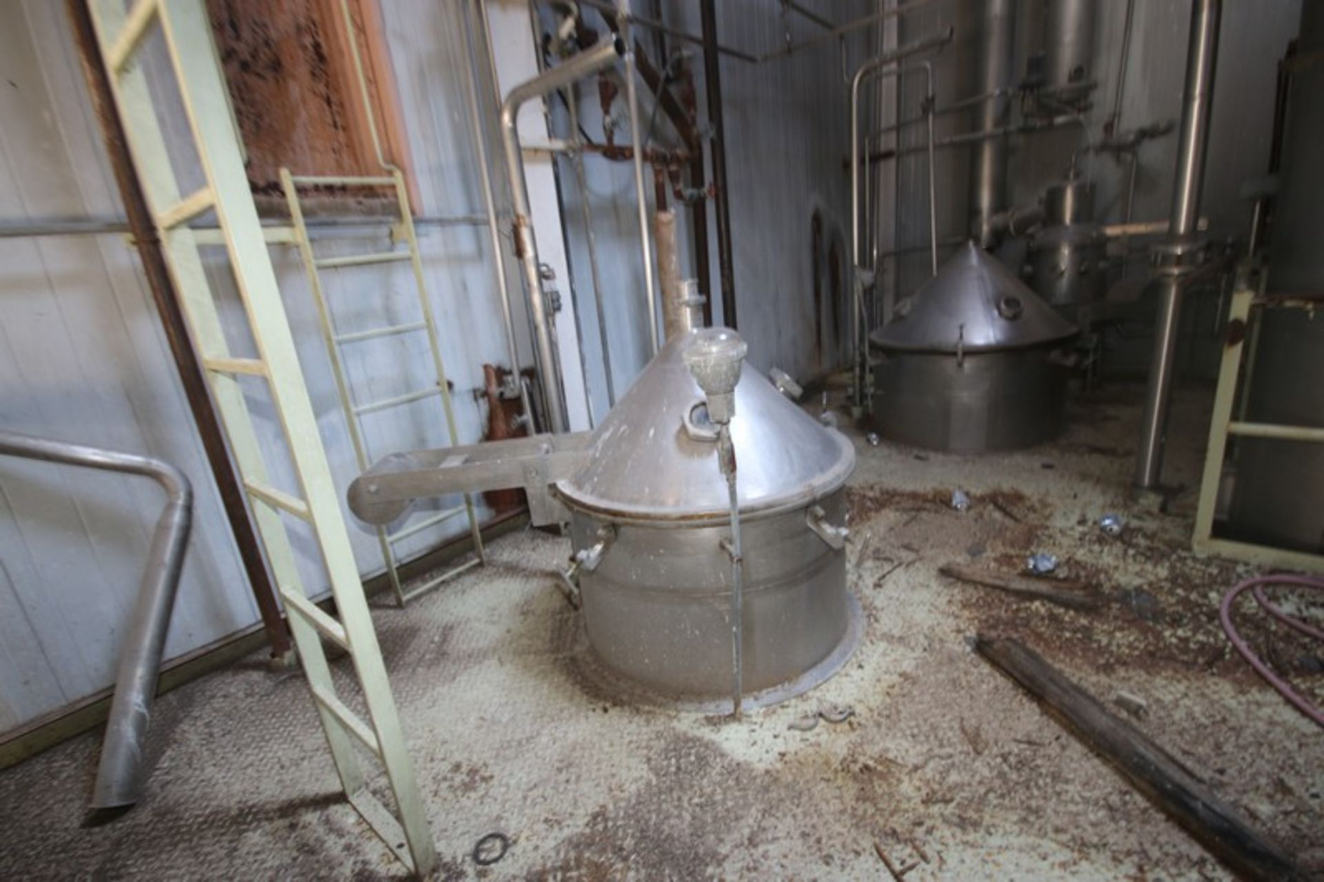 C. E. Rogers 55,000#/ Hr. Falling Film Whey Evaporator, with S/S Components & Associated Valving & - Image 13 of 22
