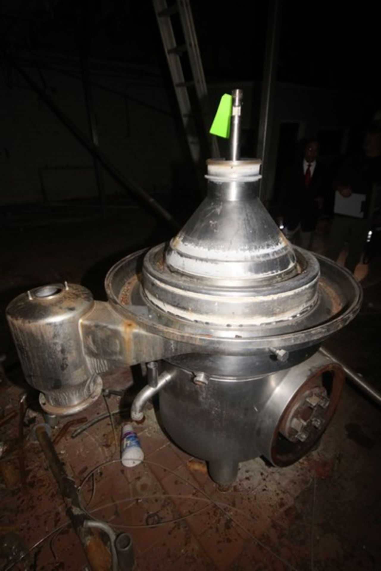 Westfalia Separator, with S/S Bowl, Bowl S/N 1644416 (NOTE: Parts Machine--See Photographs) (LOCATED - Image 4 of 8