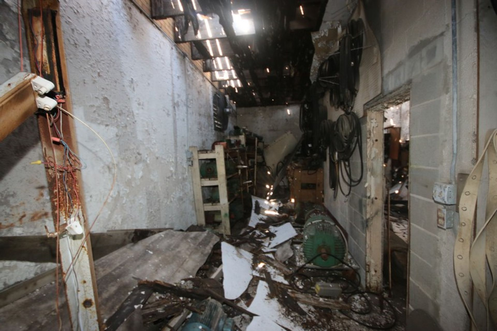 Contents of Parts Room, Includes Bearings, Stainless Steel Pipe, Motors, Belts, Electrical Wire, - Image 18 of 22