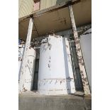Mueller Aprox. 6,500 Gal. S/S Vertical Crystallizer, S/N 131825-2, Tank Dims.: Aprox. 9' Dia. x