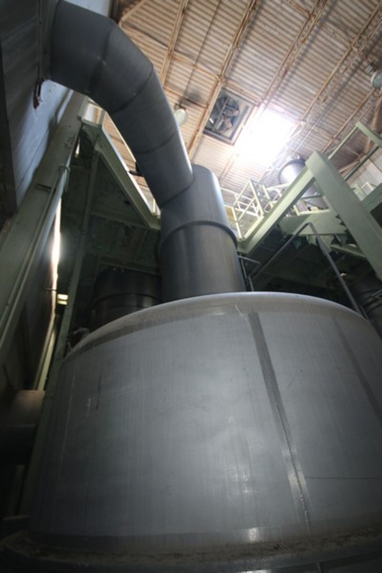 C. E. Rogers 55,000#/ Hr. Falling Film Whey Evaporator, with S/S Components & Associated Valving & - Image 4 of 22