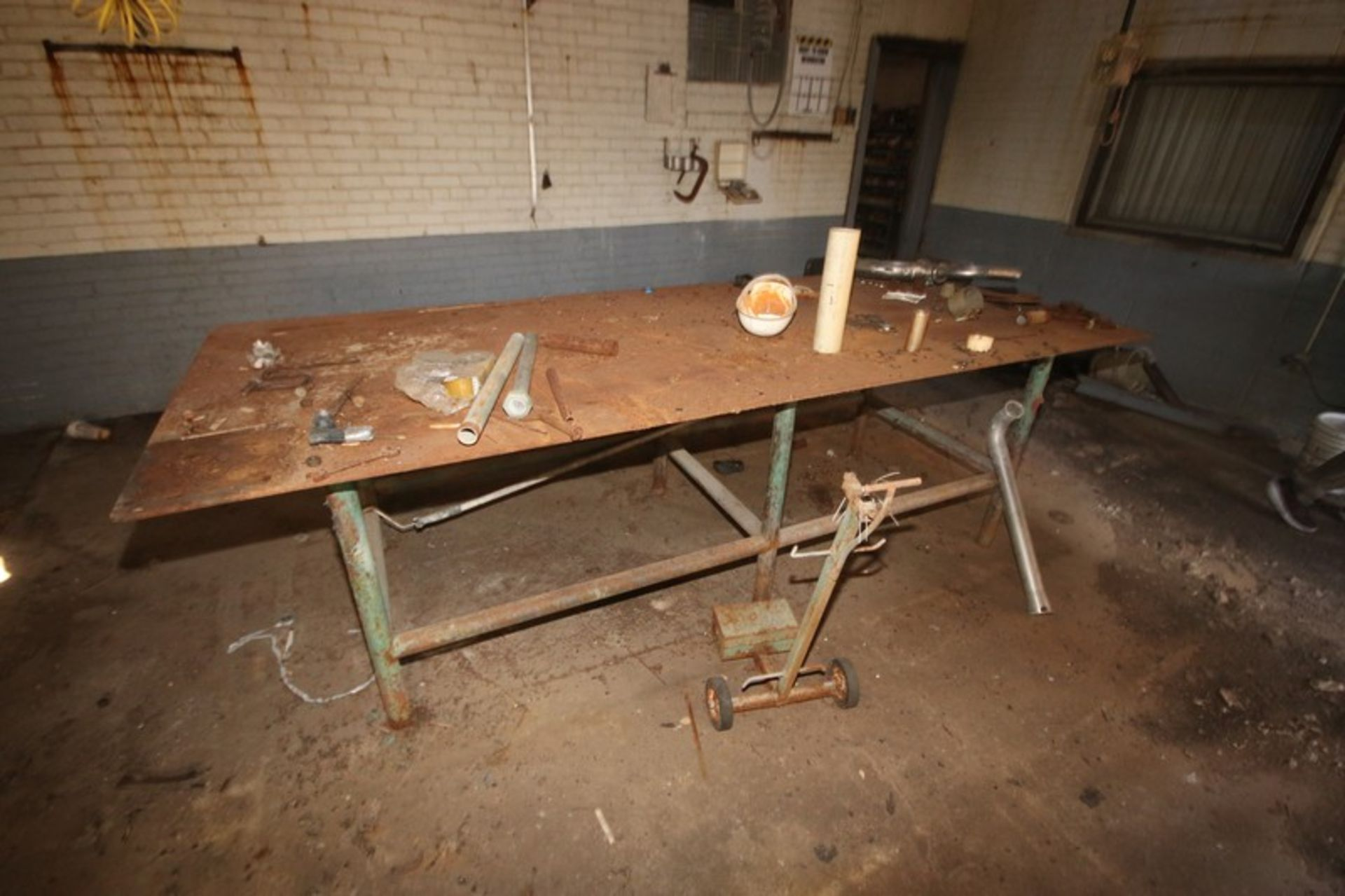 Metal Welding Table, Overall Dims.: Aprox. 4' x 10' (LOCATED IN Muenster, TX) - Image 2 of 2