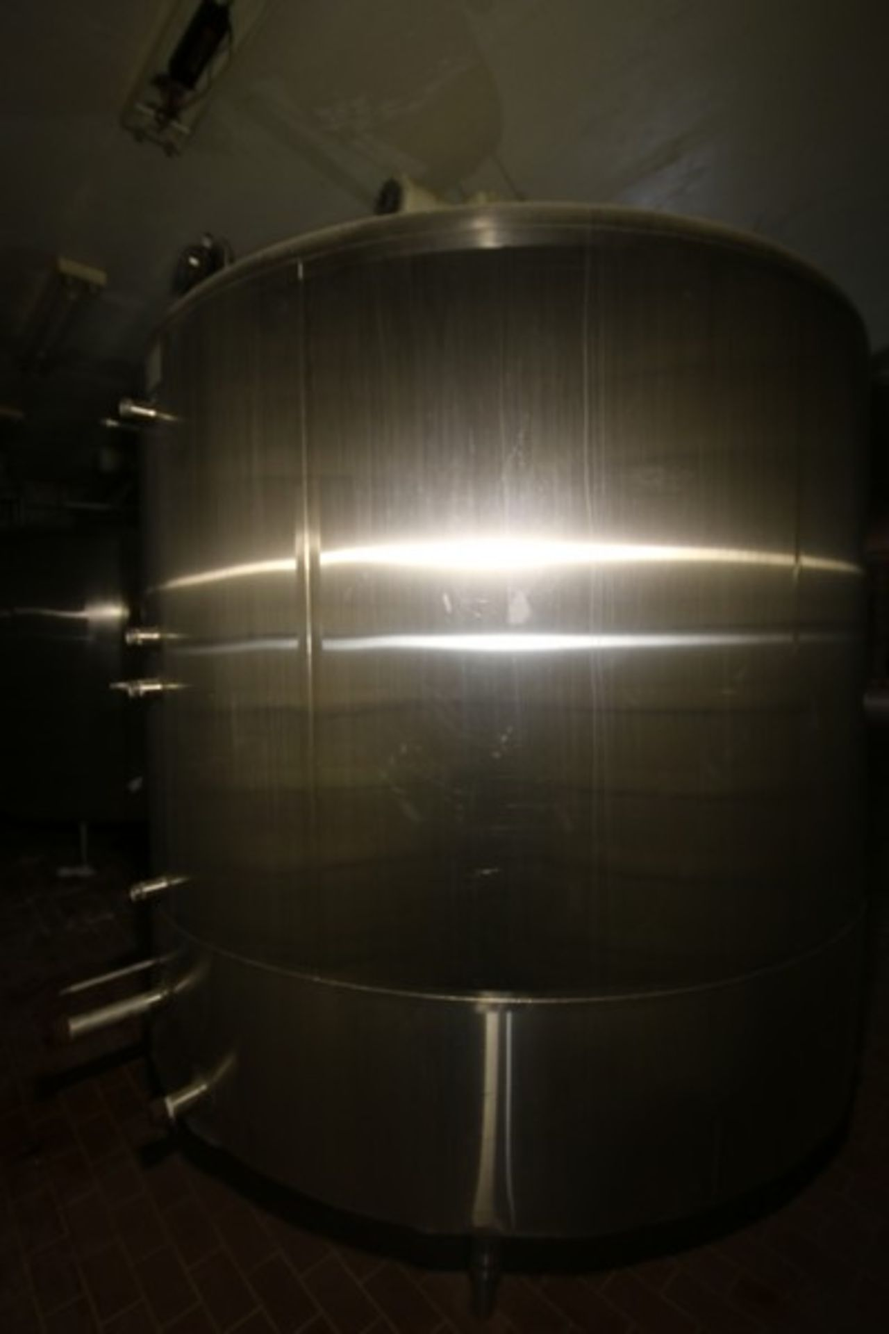 "Mueller Aprox. 2,000 Gal. S/S Processor, Processor Dims.: Aprox. 8' Diameter x 62"" Straight Side - Image 4 of 10"