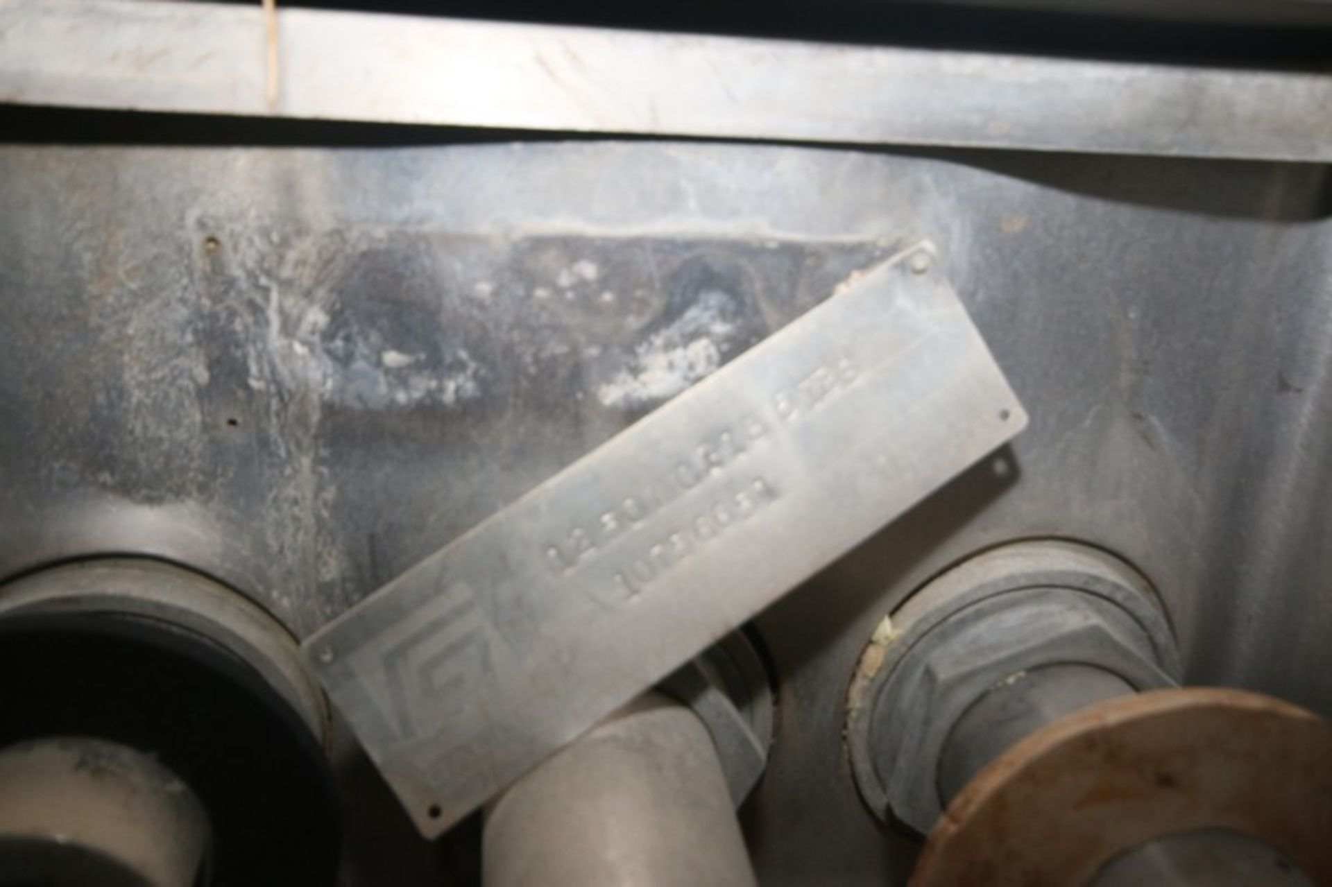 Gaulin Homogenizer, M/N 1250MCP185TBS, S/N 10756651 (NOTE: Missing Head & Other Parts--See - Image 2 of 6