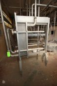Alfa Laval Plate Heat Exchanger, M/N H7-RM, S/N 30101-99402, Built 1993. Expandable Stainless