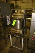 Champion S/S Dough Mixer, with S/S Dough Hook Attachment, Mounted on S/S Portable Cart (LOCATED IN