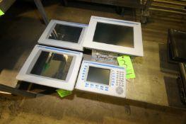 Allen-Bradley Touchscreen Displays, Includes (2) PanelView Plus 1000s, (1) VersaView 1200P, (1)