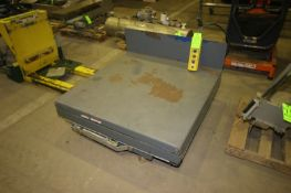 """Scissor Platform Lift, with Aprox. 47-1/2"""" x 47"""" W, with Hand Remotre & Cord (LOCATED IN MEDFORD,"""