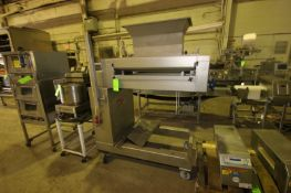 """Rademaker S/S Depositor, Type LSS, S/N 5619-704, with Aprox. 25-1/2"""" L Rolls, Mounted on Portable"""