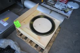 """NEW Pizzamatic Blades, Aprox. 22-1/2"""" Dia., In Wooden Box Crates (LOCATED IN MEDFORD, WI) ("""
